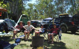 camping in Corowa