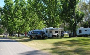 powered camping sites corowa