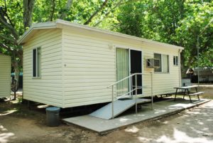 disabled cabin facilities corowa