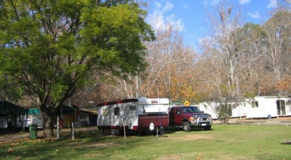 shady caravan sites corowa